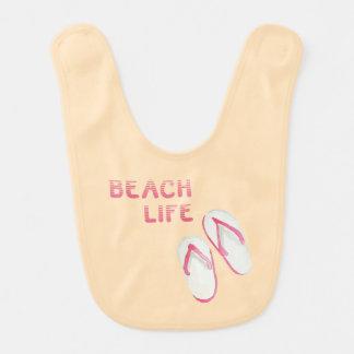 Beach Life Flip Flops Bibs