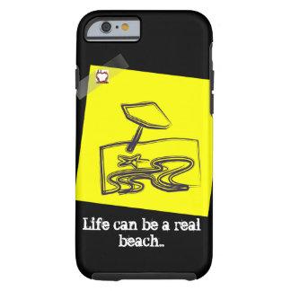 Beach Life (iPhone 6/6s, Tough Phone Case) Tough iPhone 6 Case
