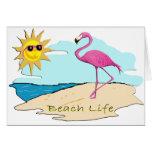 Beach Life Note Card