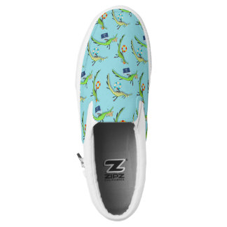 Beach Life of Sea Dragons Slip On Shoes