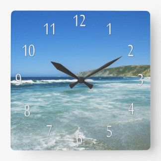 Beach Life Sea Views Ocean Wall Clock