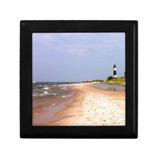 Beach Lighthouse Watch Gift Box
