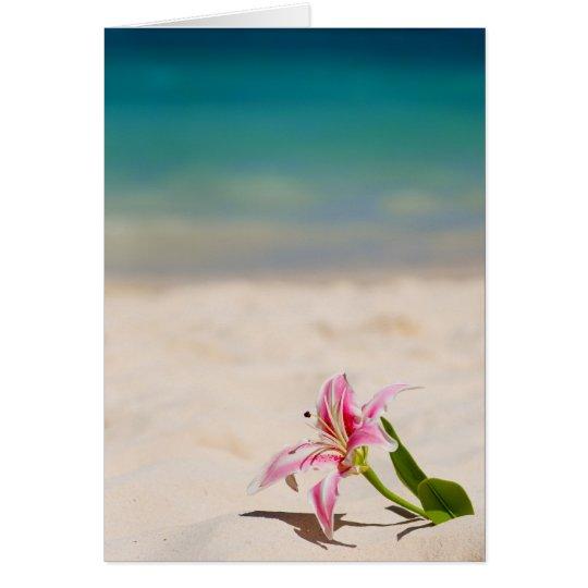 Beach Lily Card