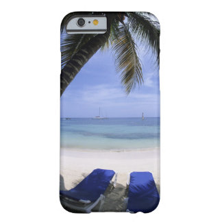 Beach, Lounge Chair, Palm tree, Horizon Over Barely There iPhone 6 Case