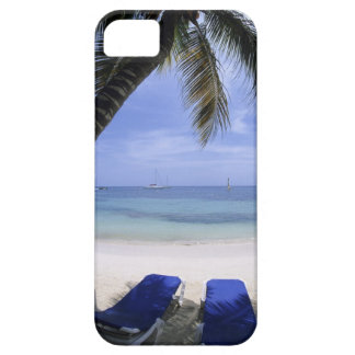 Beach, Lounge Chair, Palm tree, Horizon Over Case For The iPhone 5