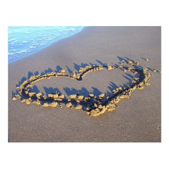 Beach Love Postcard