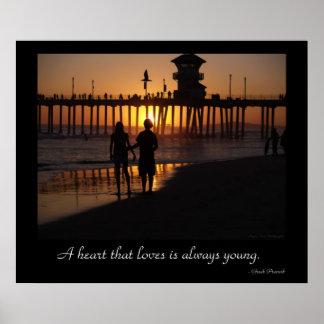 Beach Love Posters