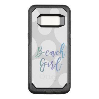 Beach Lover Designer Style OtterBox Commuter Samsung Galaxy S8 Case