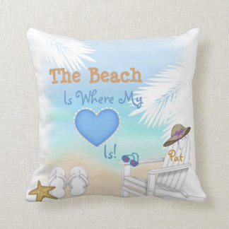 Beach Lovers Perfect Gift Pillow