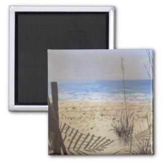 Beach Square Magnet