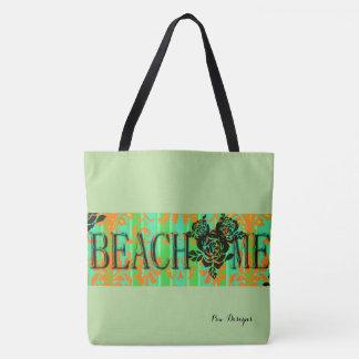 Beach-Me-Bohemian_Green(c)-Multi Choices Tote Bag