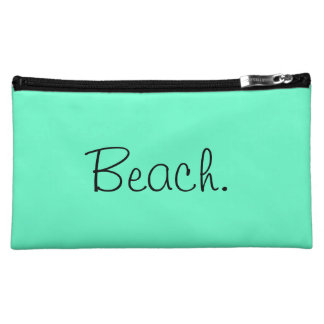 """Beach"" Medium Cosmetic Bag"