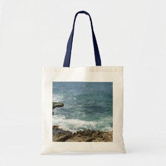 Beach Meets Ocean Budget Tote Bag