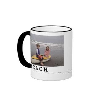 beach memories mug
