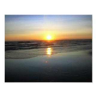 Beach Mirror Card