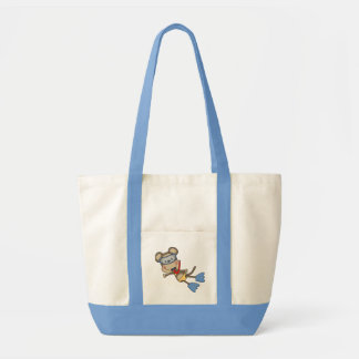 Beach Monkey Snorkeling Tshirts and Gifts Impulse Tote Bag