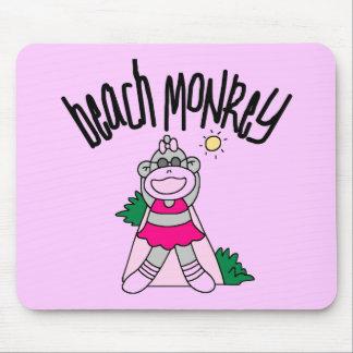 Beach Monkey Tshirts and Gifts Mousepad