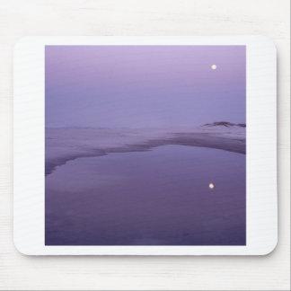 Beach Moonlight Santa Rosa Island Seashore Mouse Pads