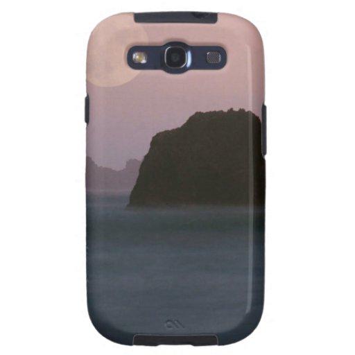 Beach Moonset Rockaway Galaxy S3 Case