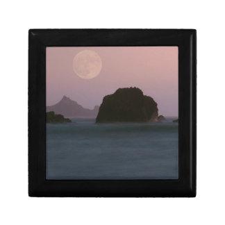 Beach Moonset Rockaway Gift Box