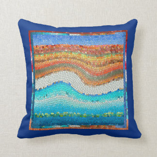 Beach Mosaic Cushion
