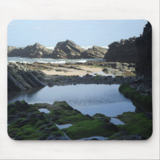 Beach mousepad, with photo of seascape. mouse pad