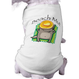 Beach Mut Dog t-shirt