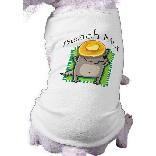 Beach Mut Dog t-shirt
