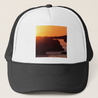 Beach Natural Bridges Santa Cruz Trucker Hat