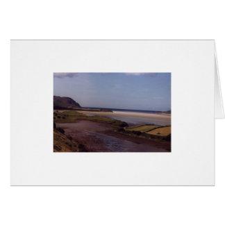 Beach near Ardara,Co.Donegal.Ireland Card