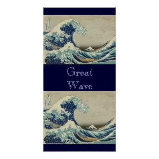 Beach Ocean Water Vintage Great_Wave_off_Kanagawa