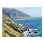 Beach Ocean Waves Coast 4 Postcard