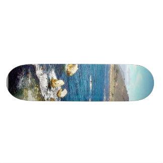 Beach Ocean Waves Coast 6 Custom Skate Board