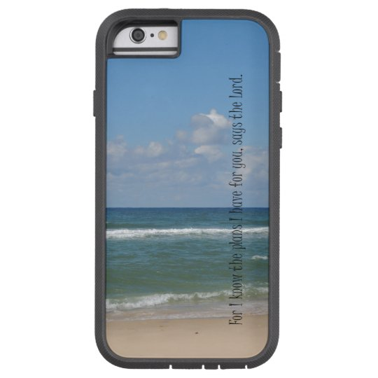 Beach Ocean with Bible Verse Tough Xtreme iPhone