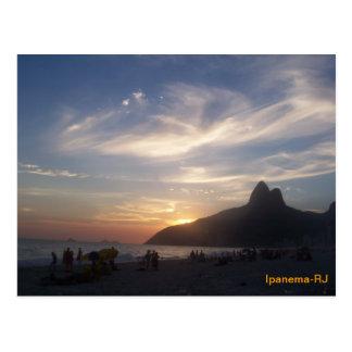 Beach of Ipanema Postcard