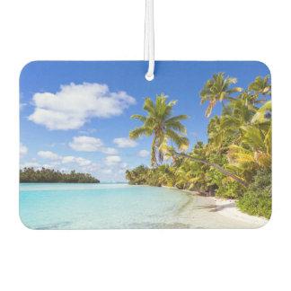 Beach Of Tapuaetai | Aitutaki, Cook Islands Car Air Freshener