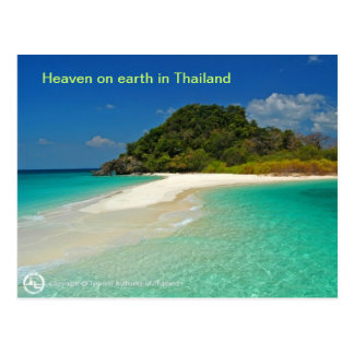 Beach of  Thailand Postcard