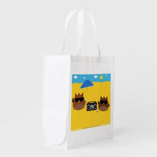 Beach Owls Design - Reusable Bag