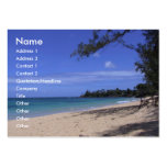 Beach Pack Of Chubby Business Cards