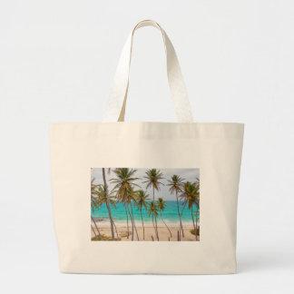 Beach Palms Canvas Bag