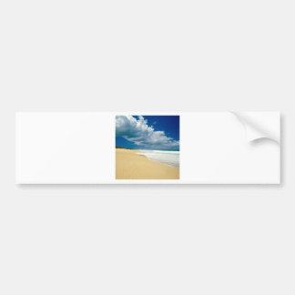 Beach Papohaku Molokai Hawaii Bumper Sticker