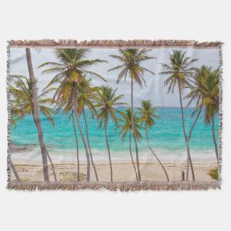 Beach Paradise Throw Blanket