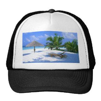 Beach Paradise Vacation Hat