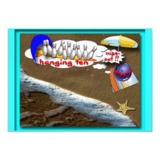 Beach Party 13 Cm X 18 Cm Invitation Card