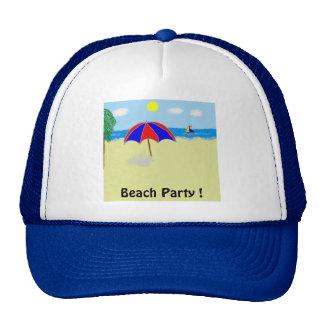 Beach Party ! Cap