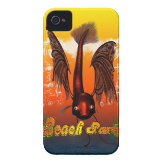 Beach party iPhone 4 cover