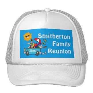 Beach Party Family Reunion Cap