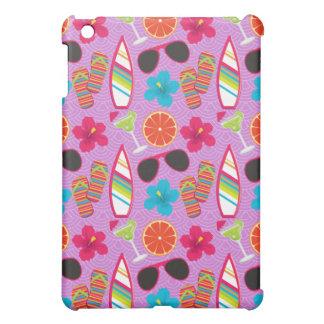 Beach Party Flip Flops Sunglasses Beachball Purple Cover For The iPad Mini
