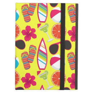 Beach Party Flip Flops Sunglasses BeachBall Yellow iPad Covers