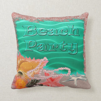 Beach Party Splash American MoJo Pillow